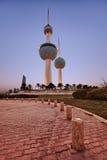 科威特塔 库存照片