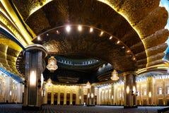 科威特盛大清真寺内部,科威特城,科威特 图库摄影