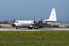 科威特C-130赫拉克勒斯 图库摄影