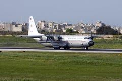 科威特C-130赫拉克勒斯 免版税库存照片