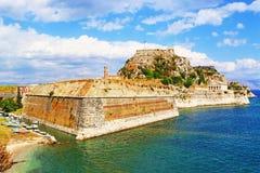 科孚岛堡垒希腊 免版税库存图片