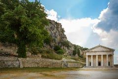 科孚岛堡垒 免版税图库摄影