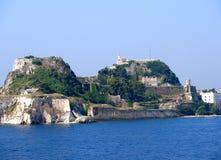 科孚岛市 库存照片