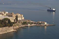科孚岛海岛在希腊 库存照片