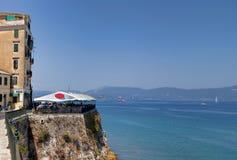 科孚岛海岛在希腊 免版税库存图片