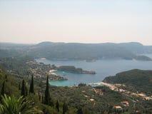 科孚岛,希腊风景看法  库存图片