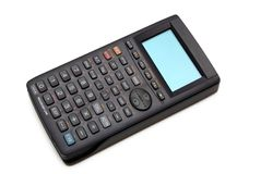 科学先进的计算器 免版税库存照片
