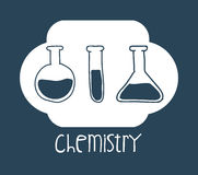 科学和化学设计 库存照片
