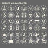 科学和实验室象集合 图库摄影