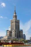 科学和文化宫殿。 华沙。 波兰 库存照片