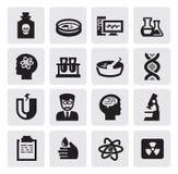 科学图标 免版税库存图片