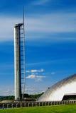 科学塔在科学中心在格拉斯哥 免版税库存图片