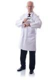 科学家或医生检查的时间 库存图片