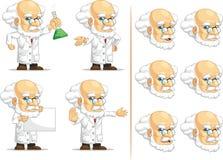 科学家或Customizable Mascot 10教授 库存照片