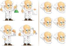 科学家或Customizable Mascot 2教授 免版税库存照片