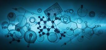 科学或实验室 免版税库存图片