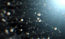 科学技术背景 滤网和网设计 皇族释放例证