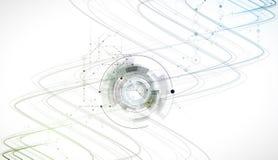 科学未来技术 对企业介绍 飞行物, 免版税图库摄影