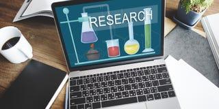 科学研究计划知识创新经验Intellige 免版税库存照片