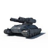 科学幻想小说未来坦克 免版税图库摄影