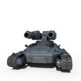 科学幻想小说未来坦克 库存照片