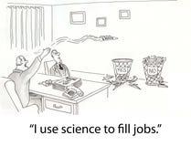 科学 库存例证