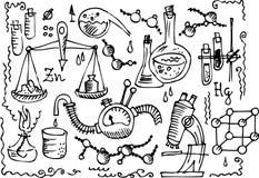 科学iv的实验室 库存图片
