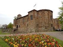 科尔切斯特城堡,科尔切斯特,英国,英国 免版税库存图片