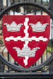 科尔切斯特徽章 库存照片