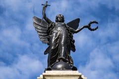 科尔切斯特战争纪念建筑 免版税库存图片