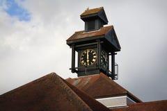 科尔切斯特贸易中心屋顶 免版税库存照片