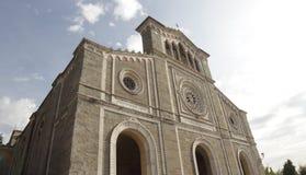 科尔托纳大教堂,意大利 免版税库存图片