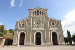 科尔托纳大教堂,意大利 库存图片