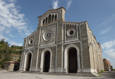 科尔托纳大教堂,意大利 图库摄影