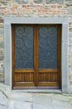 科尔托纳,意大利的门 免版税图库摄影
