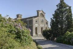 科尔托纳,阿雷佐,托斯卡纳,意大利,欧洲,大教堂圣洁延命菊 免版税图库摄影