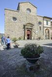 科尔托纳,阿雷佐,托斯卡纳,意大利,欧洲,大教堂 免版税库存图片