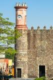 科尔斯特宫殿在库埃纳瓦卡,墨西哥 库存图片