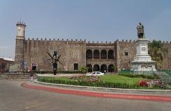 科尔斯特cuernavaca de palacio 免版税库存图片