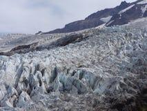 科尔曼冰川 库存照片