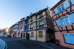 科尔马在阿尔萨斯,法国 免版税库存照片
