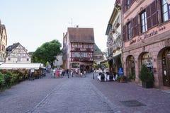 科尔马,阿尔萨斯,法国 免版税库存图片