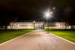 科布伦茨市德国历史的德国城堡 免版税库存图片