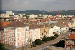 科希策,斯洛伐克老镇  库存图片