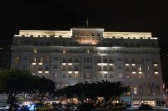 科帕卡巴纳宫殿,里约热内卢,巴西 免版税库存图片