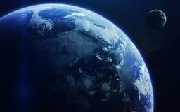 科幻艺术 外层空间秀丽  美国航空航天局装备的这个图象的元素 免版税库存图片