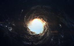 科幻艺术 外层空间秀丽  美国航空航天局装备的这个图象的元素 库存图片