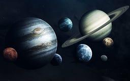 科幻艺术 外层空间秀丽  美国航空航天局装备的这个图象的元素 免版税图库摄影