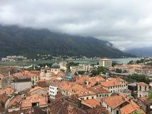 科托尔市在黑山 免版税图库摄影