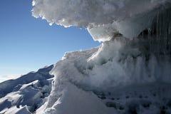 科托帕克西冰川 图库摄影
